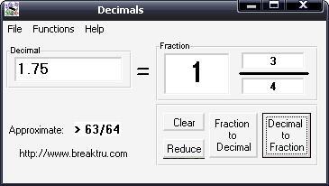 برامج رياضيات للاطفال Fraction3
