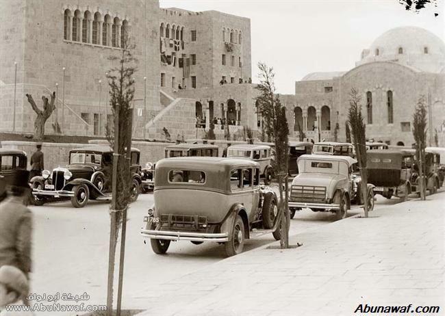 مجموعة من الصور القديمه لكل من العراق و فلسطين وسوريا Cars-Old